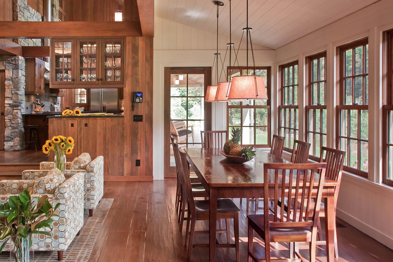Marvin craftsman dining room