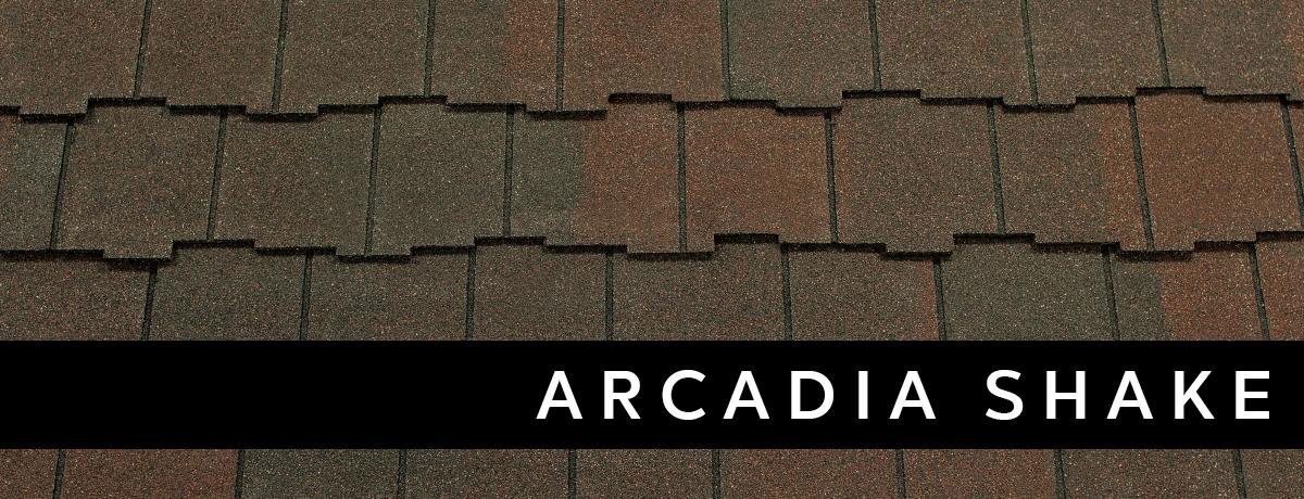 Arcadia Shake Roof Design