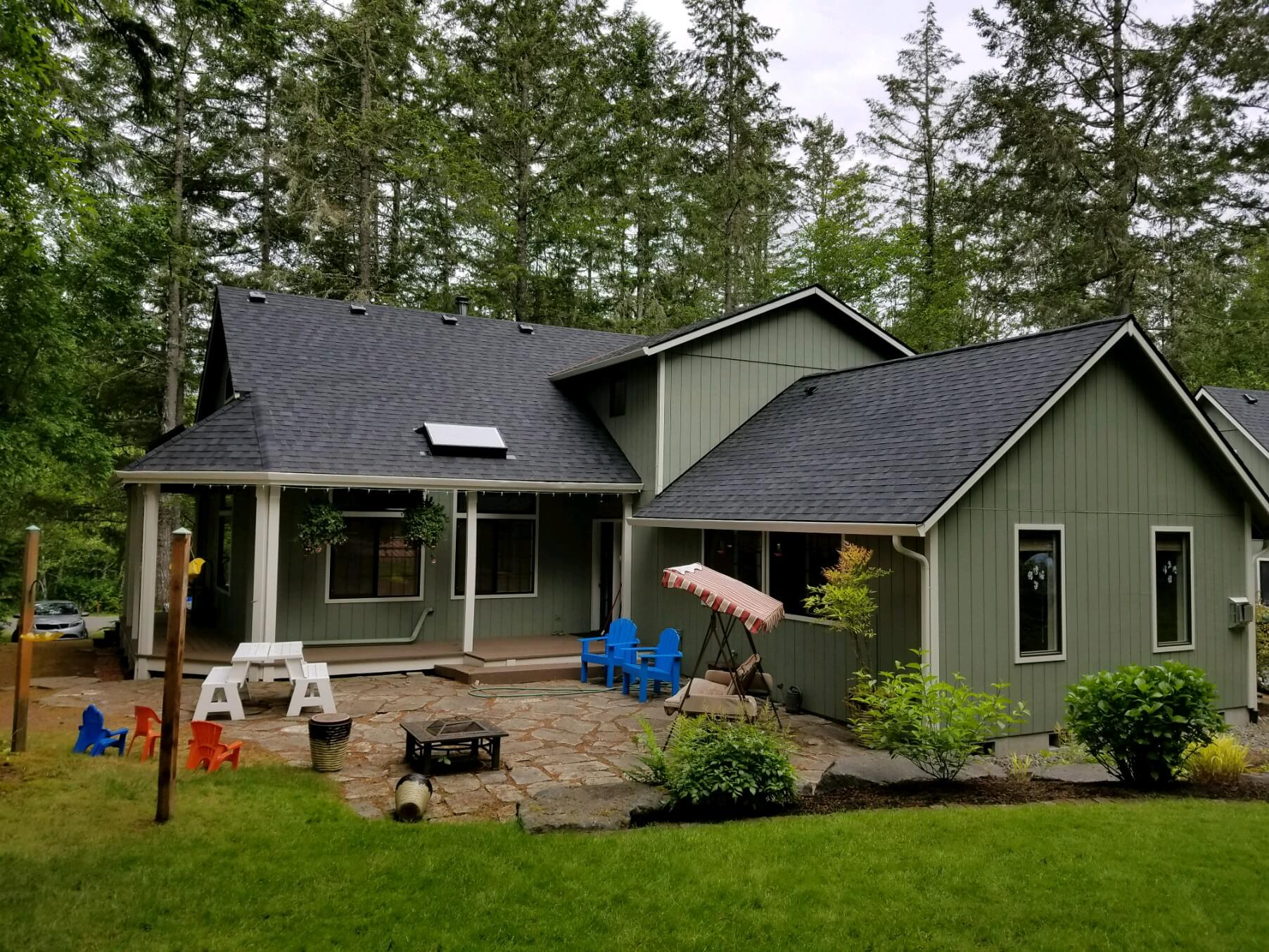 Completed Roof Installed by Clearview Exteriors LLC Professionals
