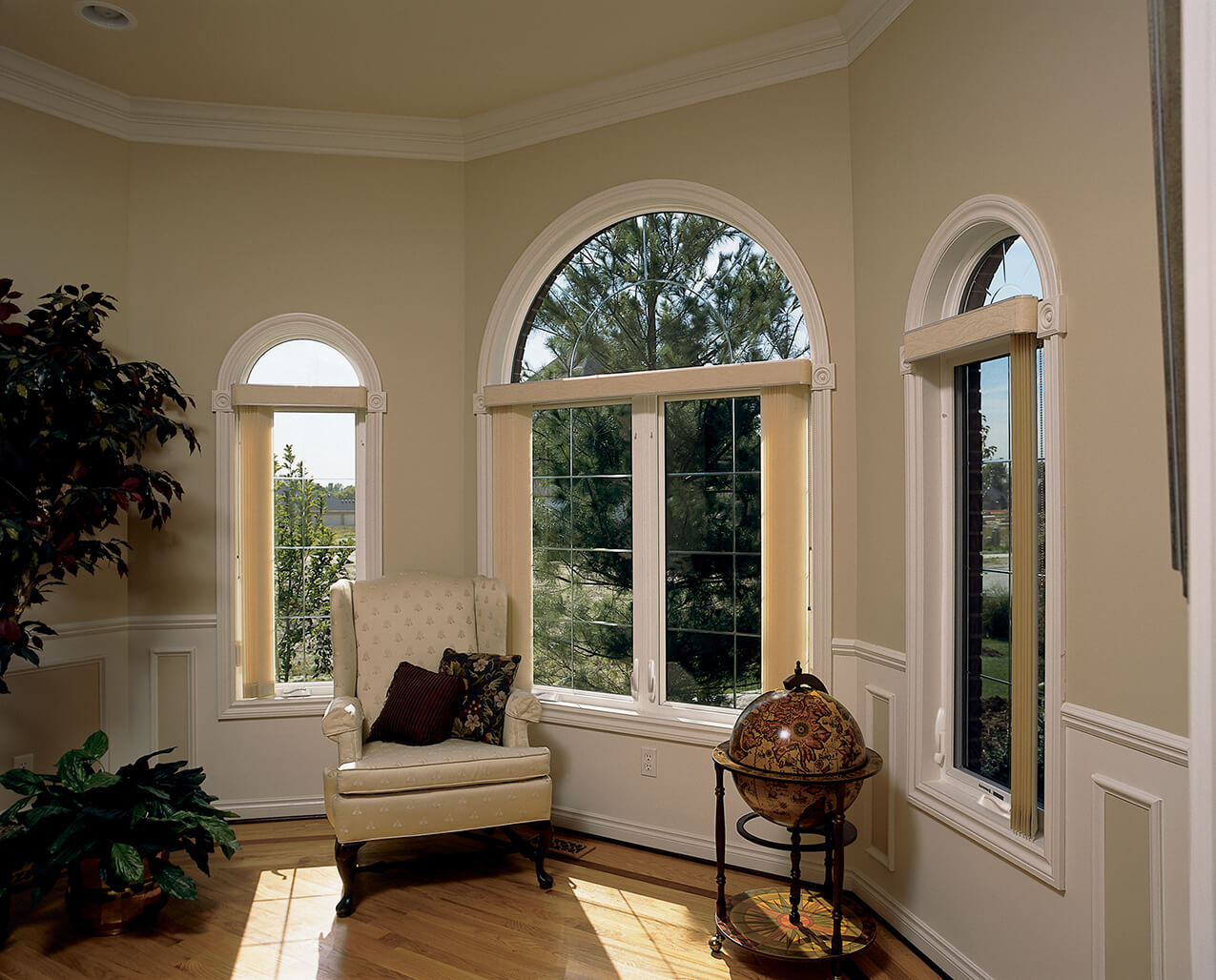 great view on a casement window