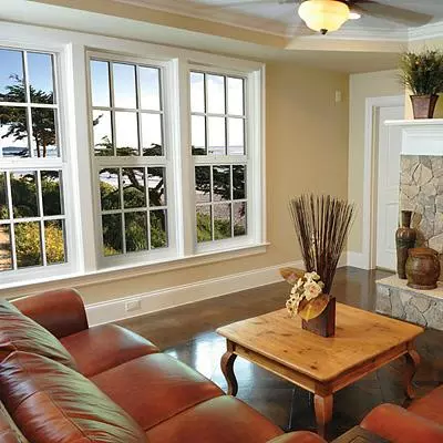 Sliding Window with a beautiful view outside